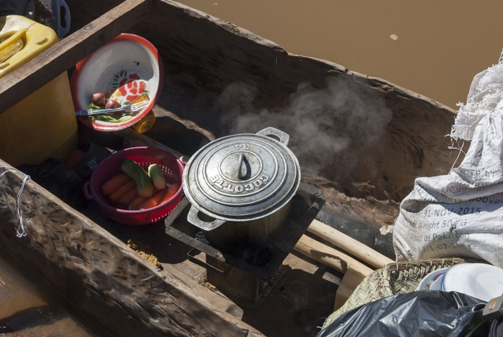Tsiribihina River Boat Cooking