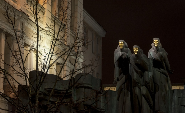 Lithuania Vilnius night death eaters