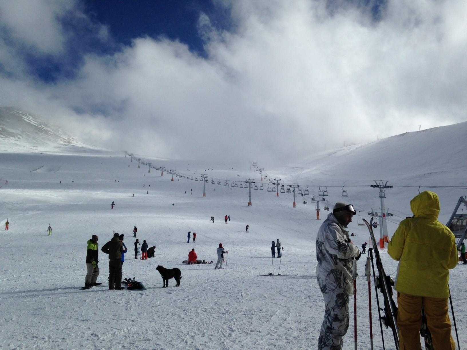 tochal ski iran tehran