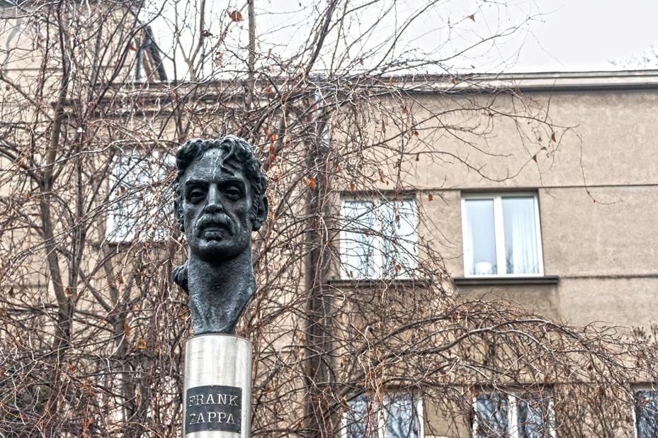 Lithuania Vilnius Frank Zappa