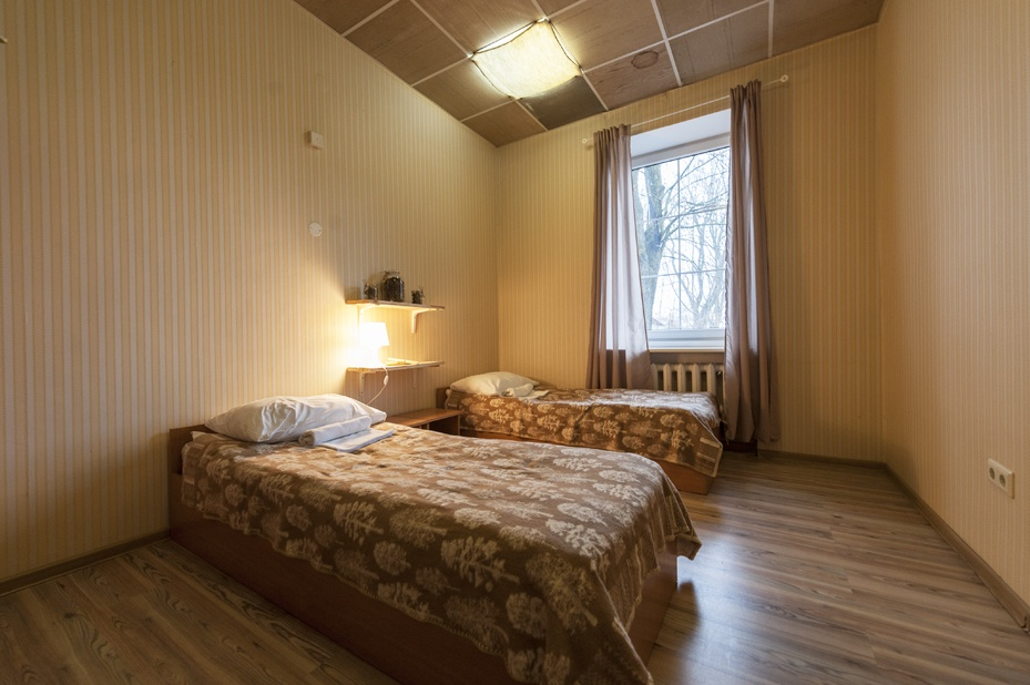 stay in uzupis downtown forest room