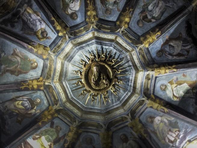 milan santa maria alla fontana ceiling