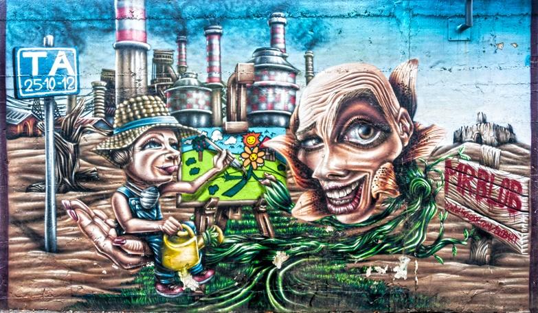 Milano Street Art Mr Blob TA