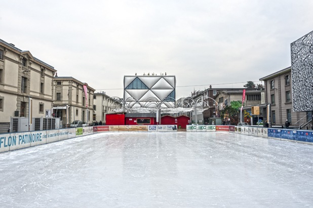 le flon ice skating rink