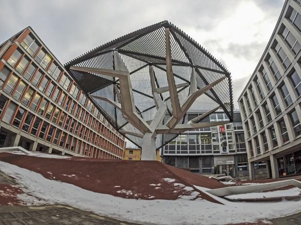 Flon Modern architecture lausanne