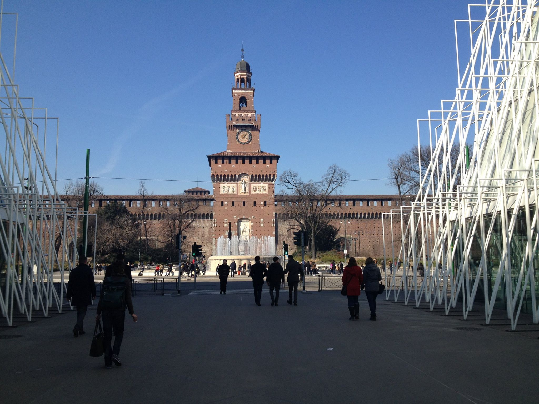 castello sforzesco expo gate