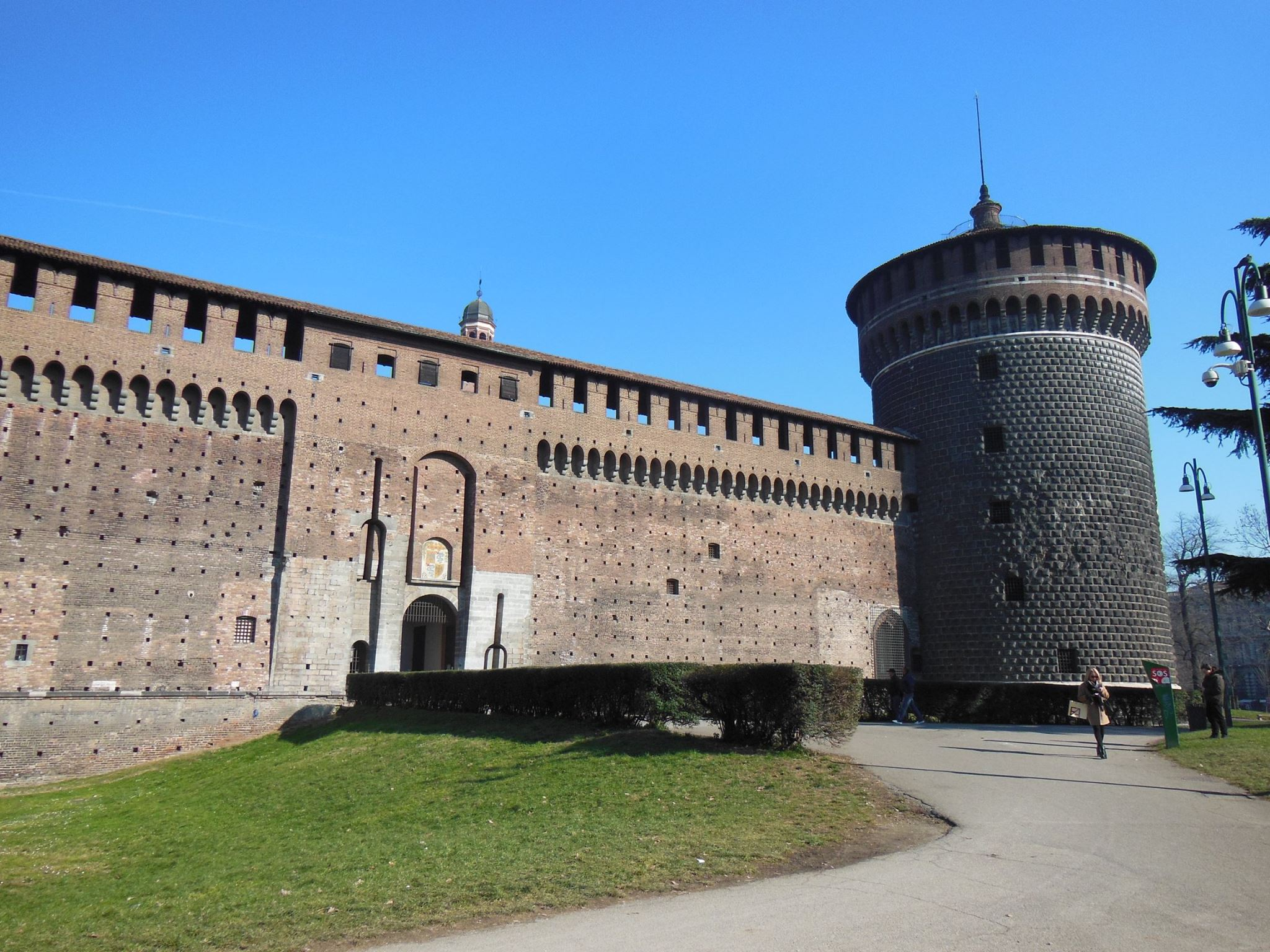castello sforzesco tower