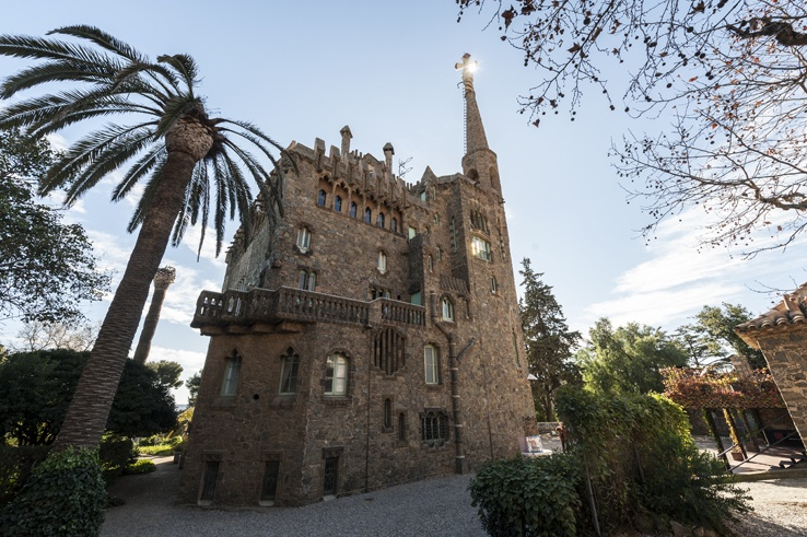 torre bellesguard barcelona gaudi
