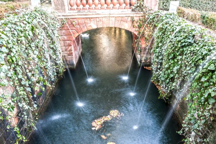 parc del laberint canal