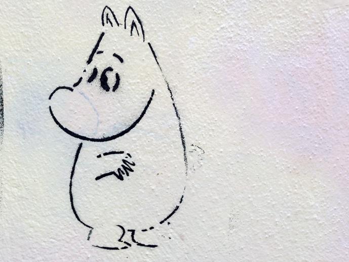 Dresden moomin stencil