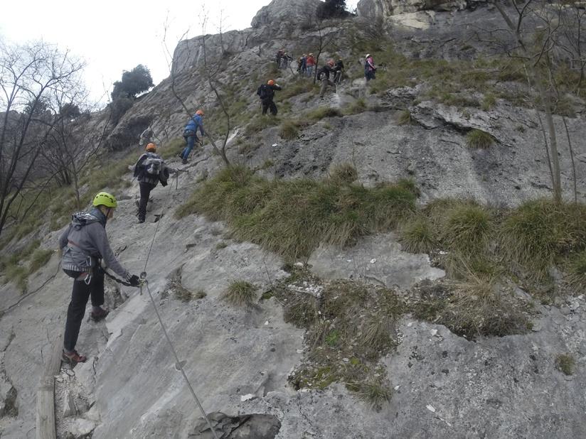 ferrata monte colodri rock