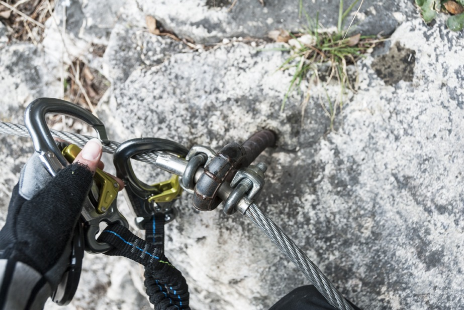 via ferrata clips adventures lake garda