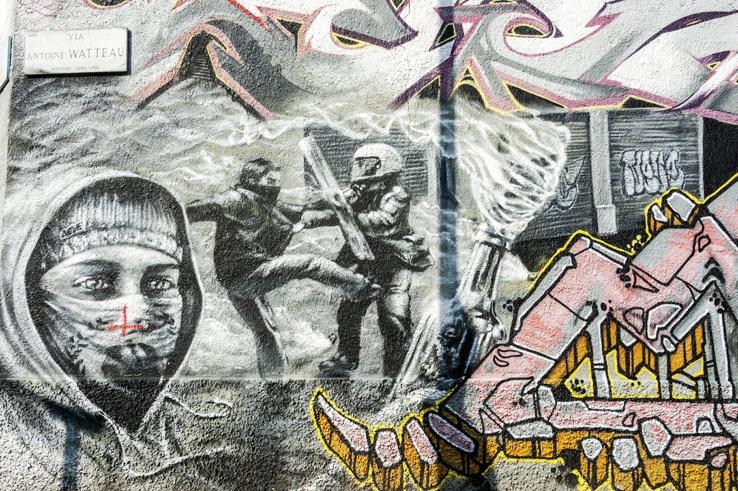 street art leoncavallo milan