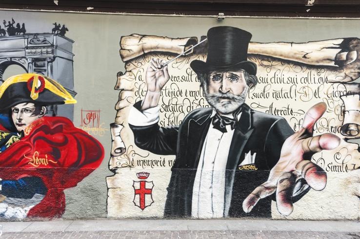 verdi street art porta ticinese