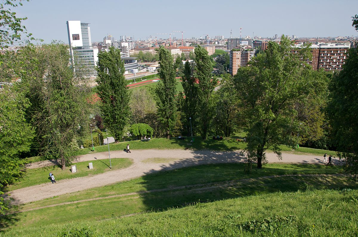 monte stella view of milan