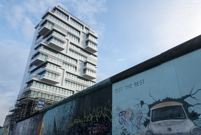 east side gallery high rise