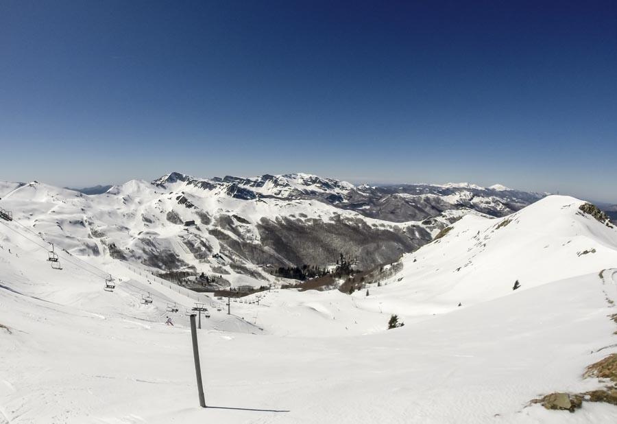 abetone ski slopes