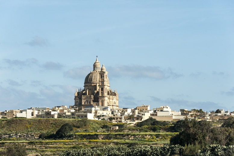 xewkija dome close up gozo