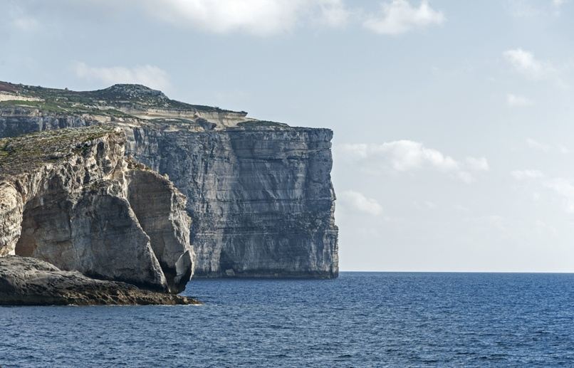 cliffs near azure window gozo