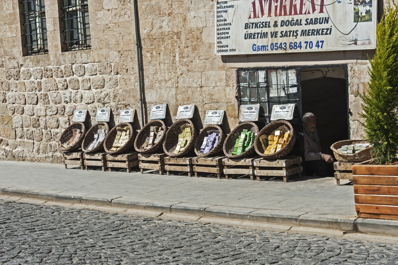 mardin turkey soap shops