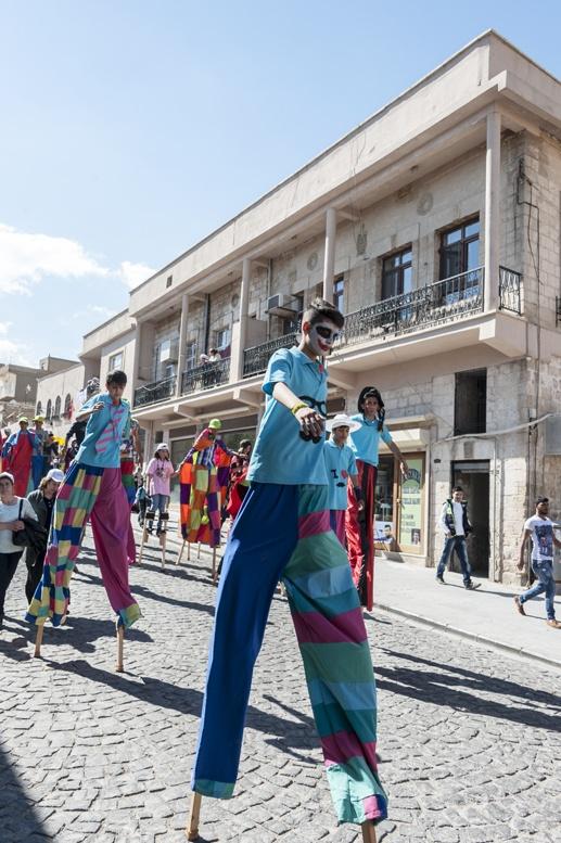 mardin first street opening parade
