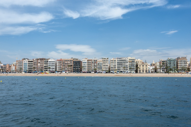 lloret de mar skyline