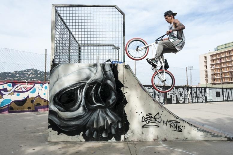 lloret de mar street art bmx