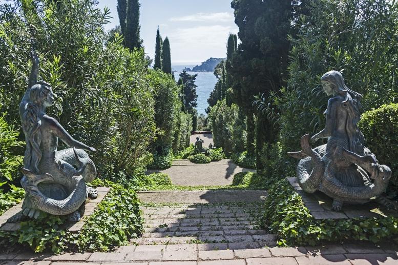 santa clotilde gardens mermaids