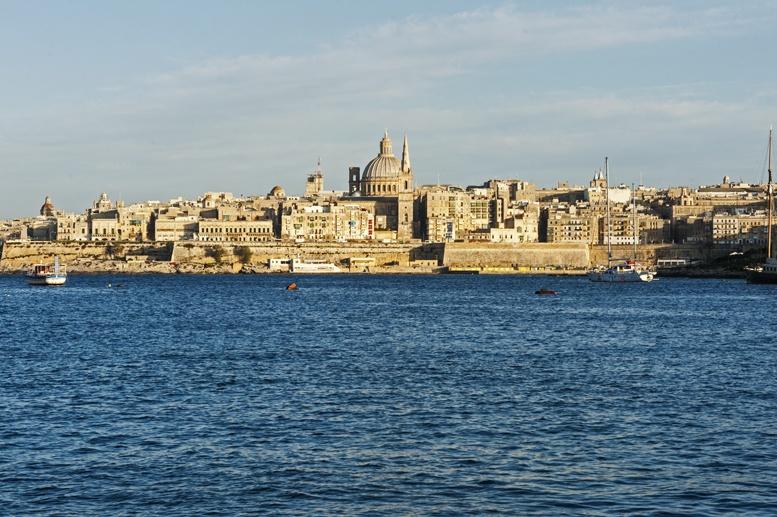 malta public transport valletta view