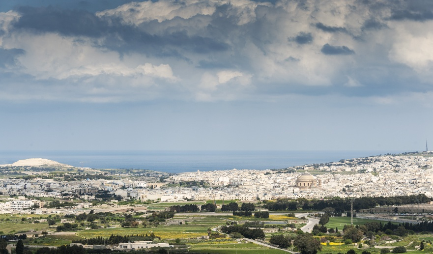 malta view from mdina
