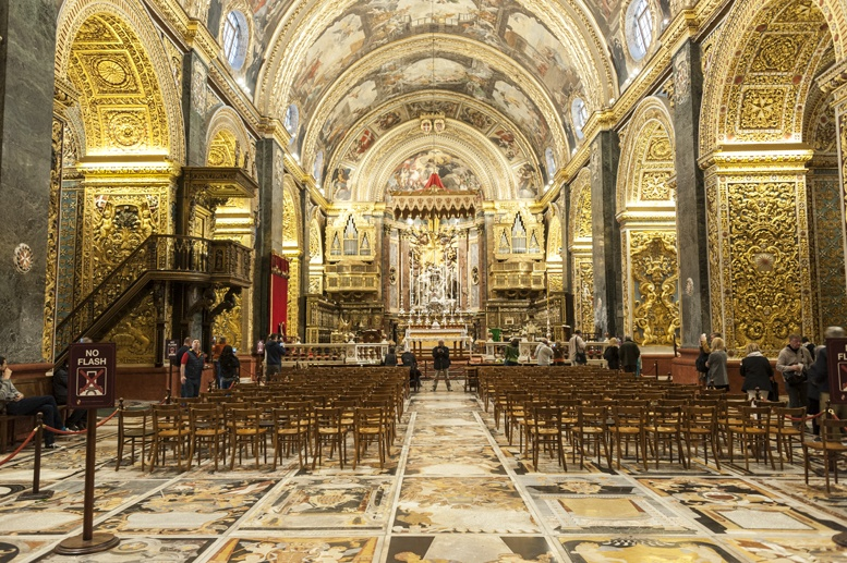 st john co cathedral inside malta