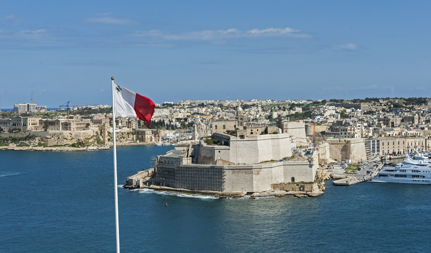 malta three cities maltese flag