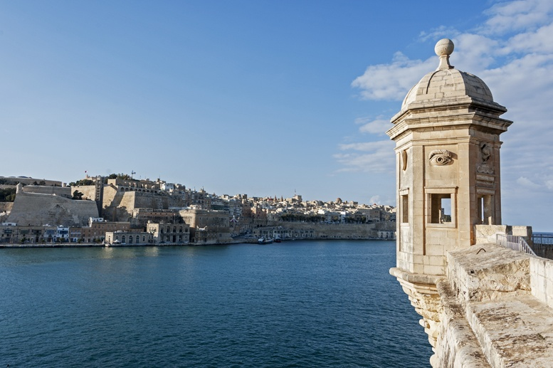 isla view over valletta