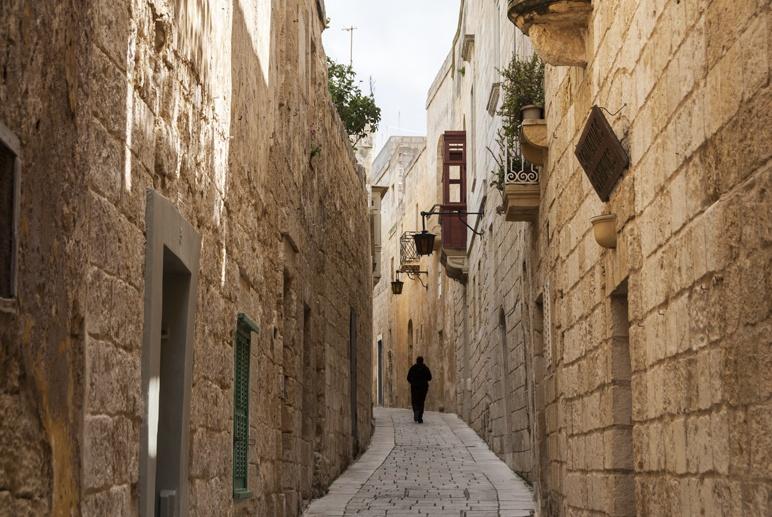 mdina street malta