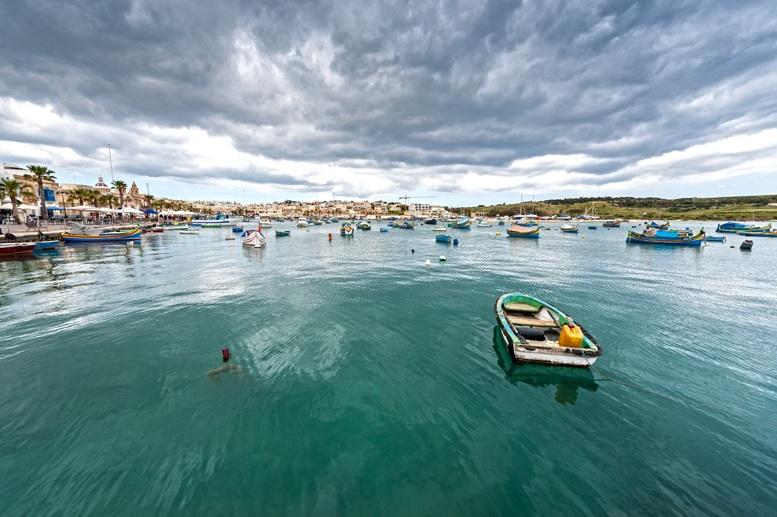 marsaxlokk malta harbour