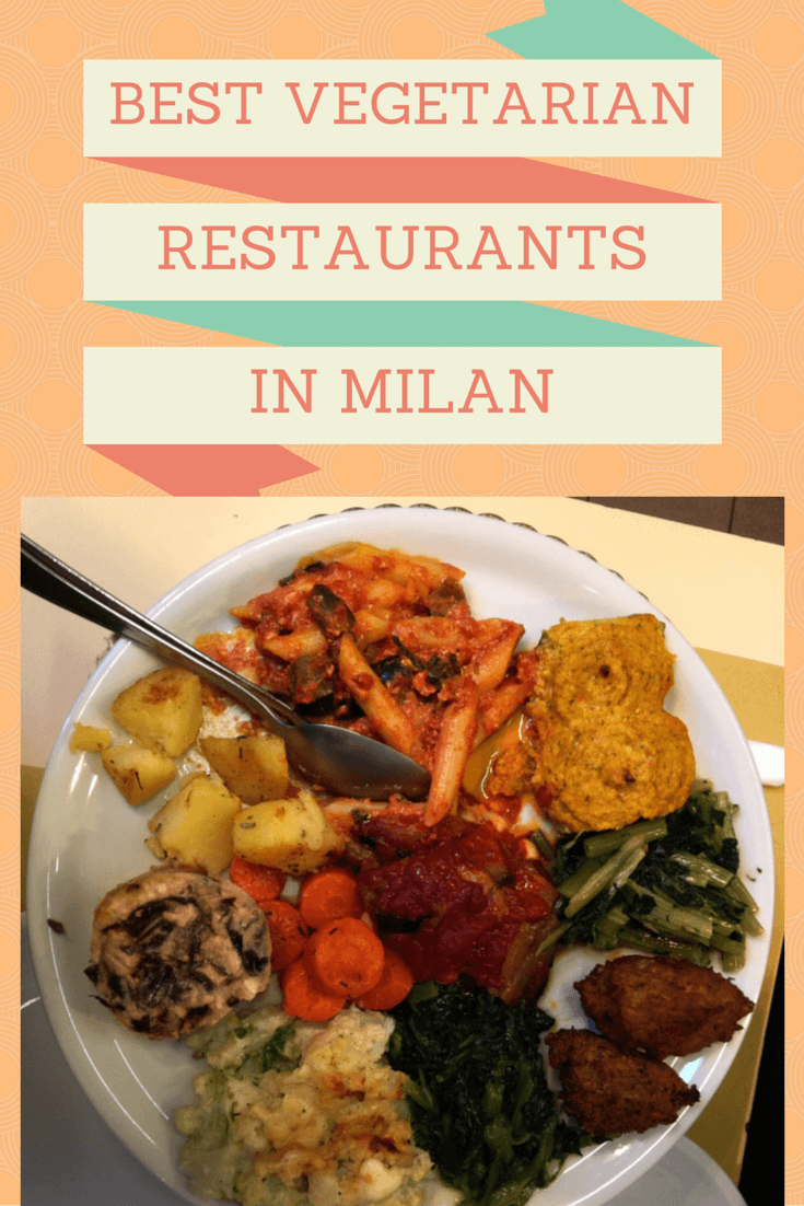 vegetarian restaurants milan pin