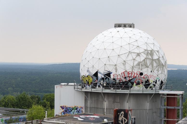 teufelsberg view berlin