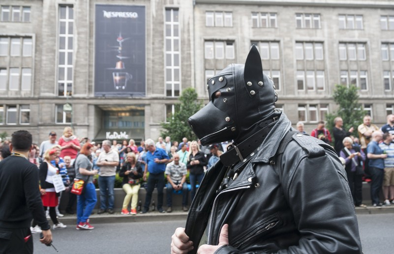 berlin pride gimp dog
