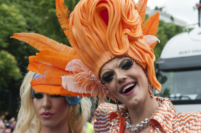 Berlin gay pride orange queen