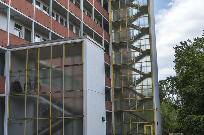 hansaviertel niemeyer building berlin