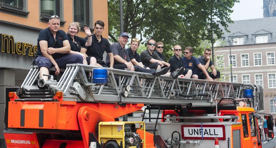 cologne gay pride fire brigades