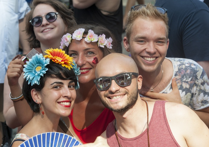 cologne pride parade smiles