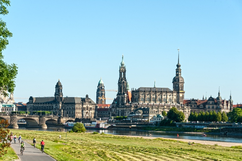 dresden elbe cycle