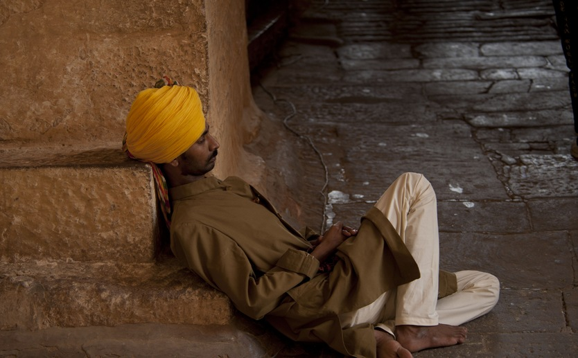 Jodhpur fort man