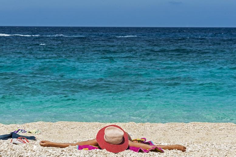 relaxing beach sardinia