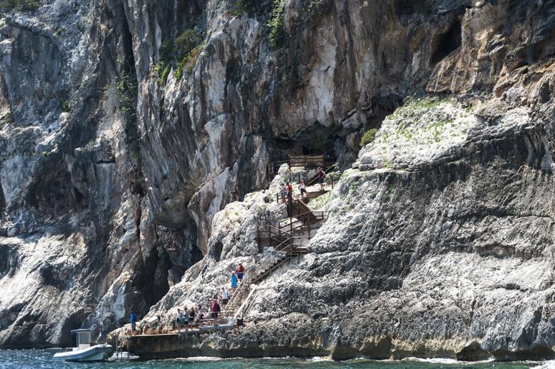 sea rocks sardinia
