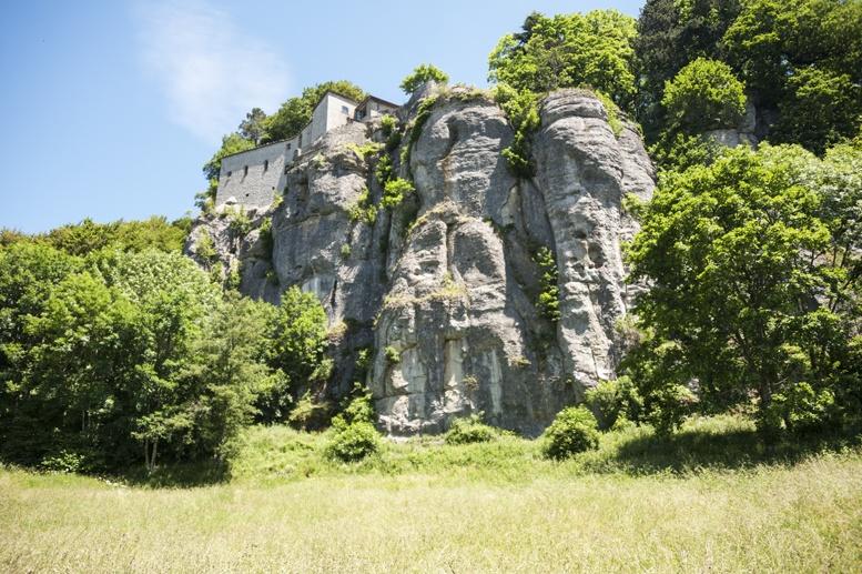 la verna sanctuary view