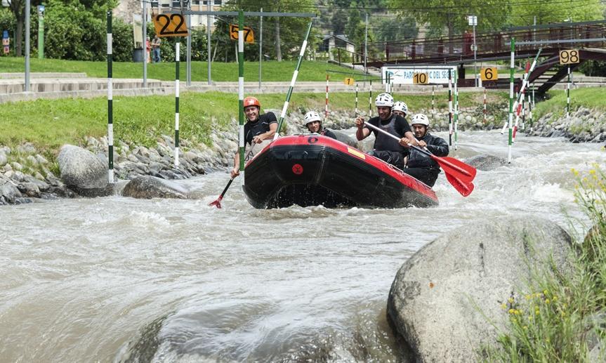 rafting segre adventure park 2