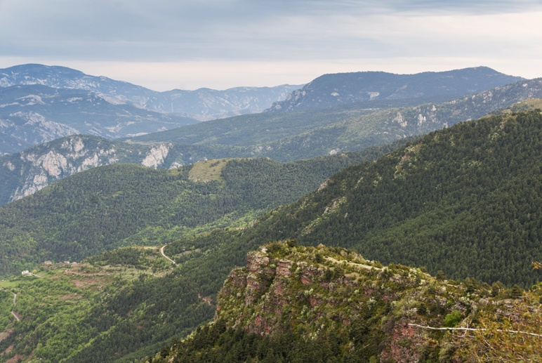 catalan pyrenees view