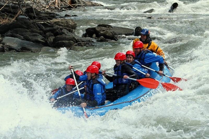 rafting pyrenees noguera pallaresa